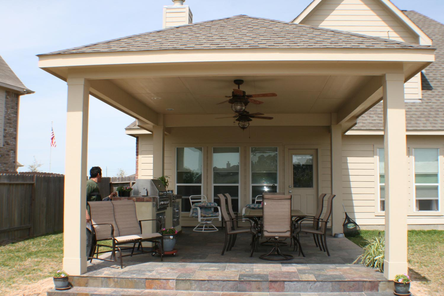 Patio Cover Outdoor Kitchen HHI Patio Covers