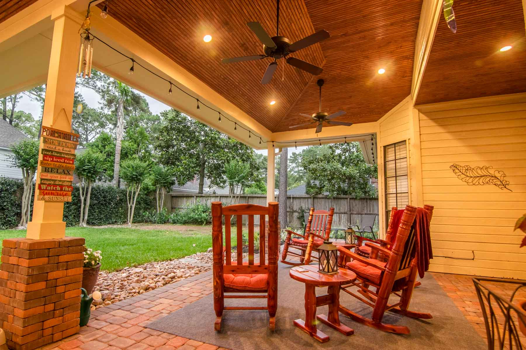 Patio Cover In Cypress Tx Hhi Patio Covers