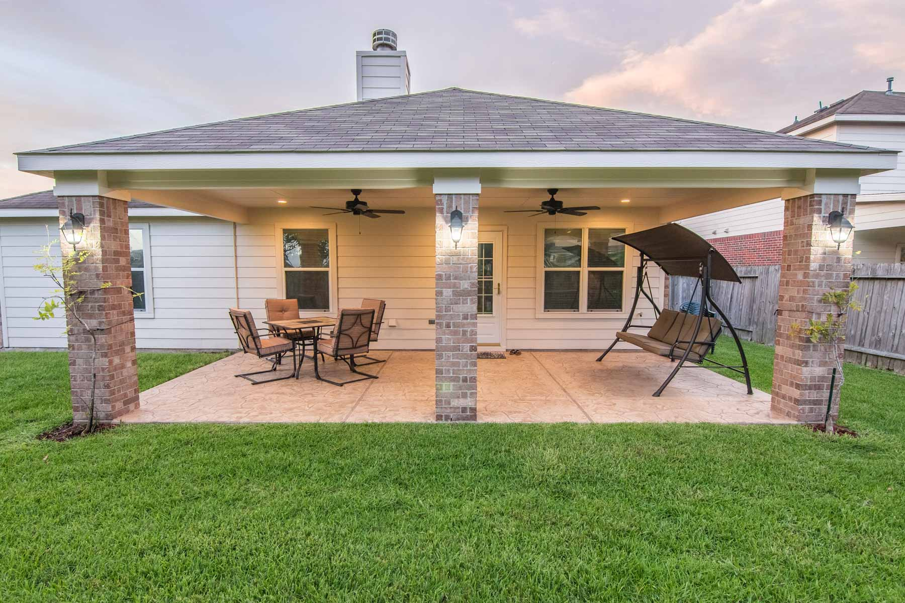 Patio Cover In Cypress Texas