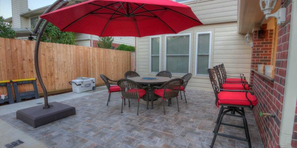 Patio Cover Project in Houston