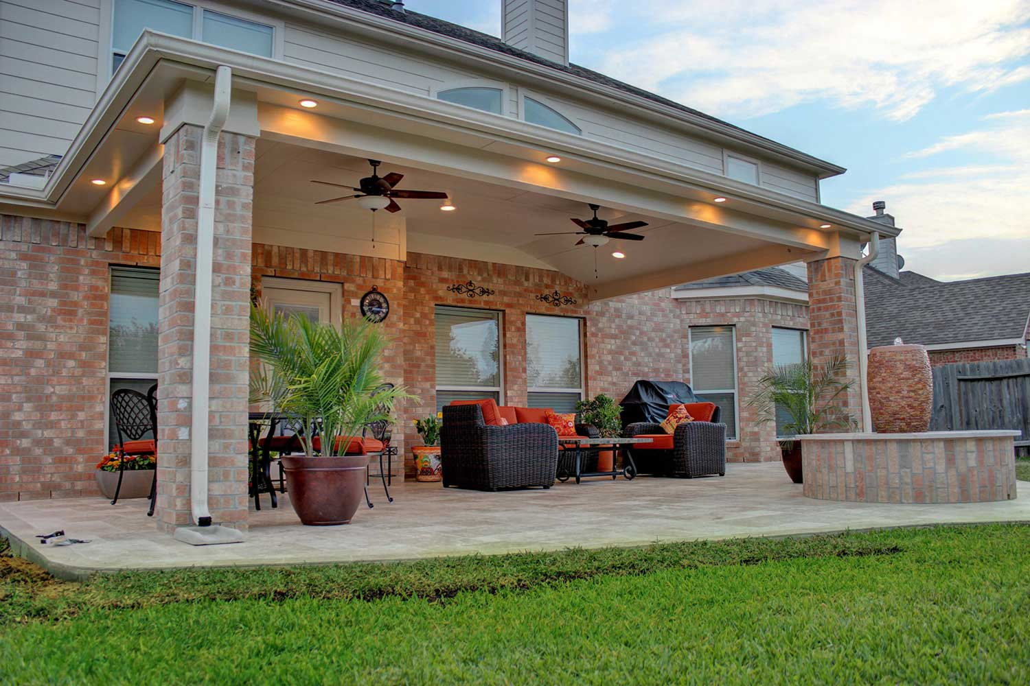 Patio Cover in Cypress, TX - HHI Patio Covers on Backyard Patio Cover  id=84930