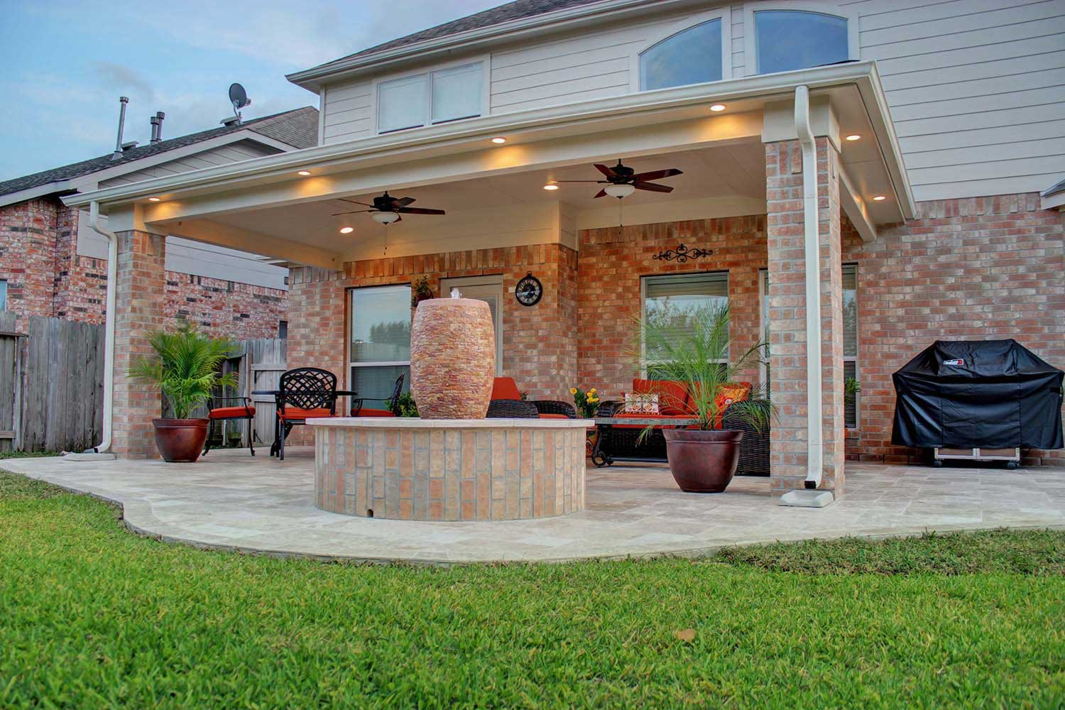 Patio Cover in Cypress, TX - HHI Patio Covers on Patio Cover Ideas Images id=77549