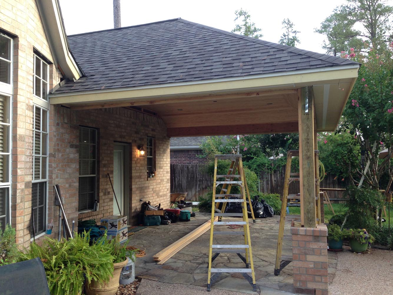 Patio Cover In Houston Tx - HHI Patio Covers on Backyard Patio Cover  id=11918