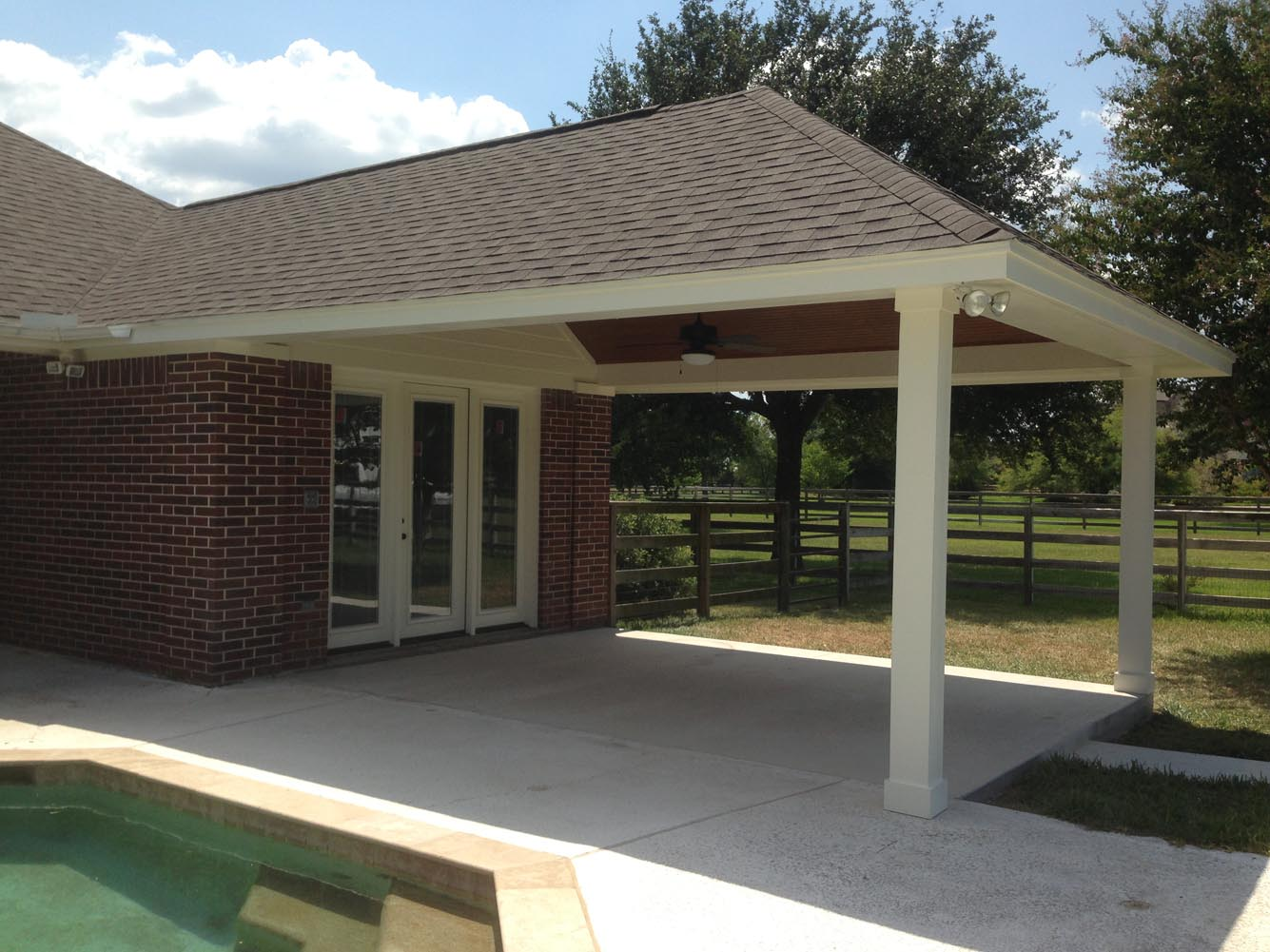 Patio Cover In Houston, TX - HHI Patio Covers on Backyard Patio Covers  id=64724