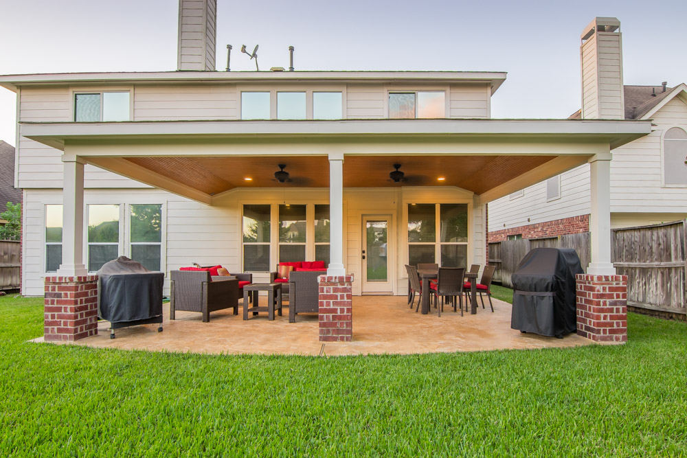 Patio Cover In Cypress