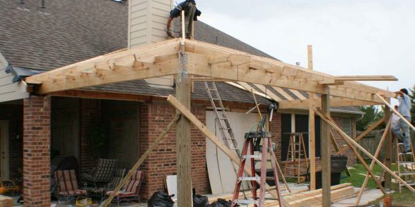 patio cover structure