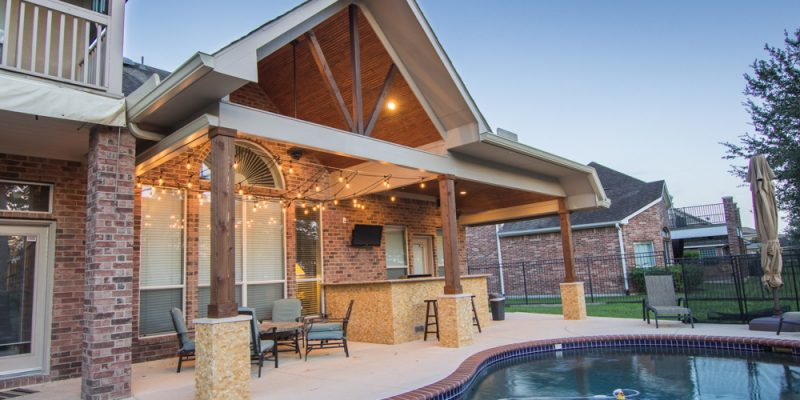 pool and patio cover
