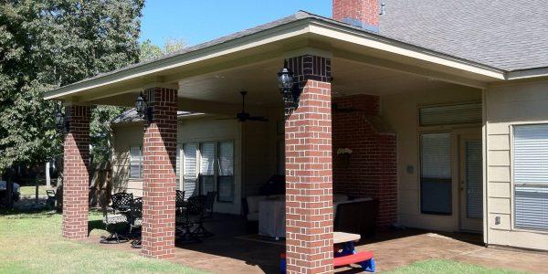 brick columns