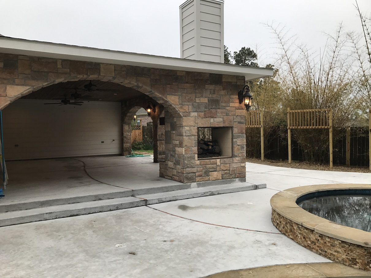 Patio Cover In Conroe Tx Hhi Patio Covers