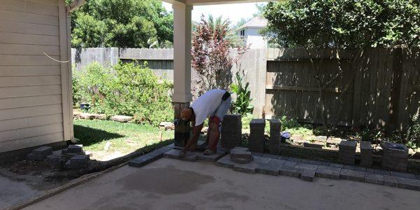 pavestone install