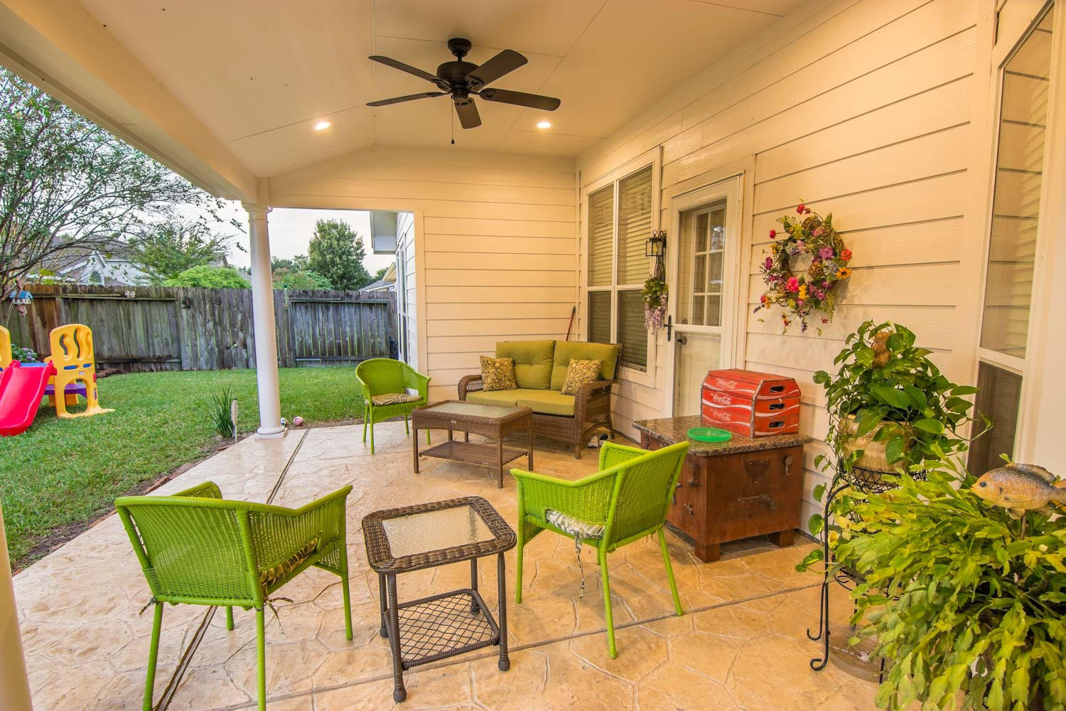 Hip Roof Patio Cover in Cypress, TX - HHI Patio Covers
