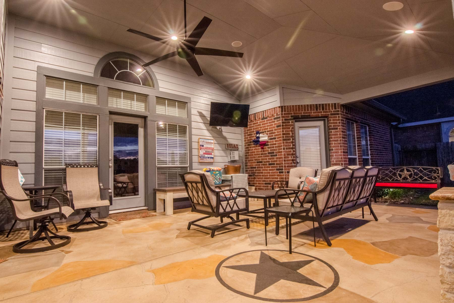 patio cover floor
