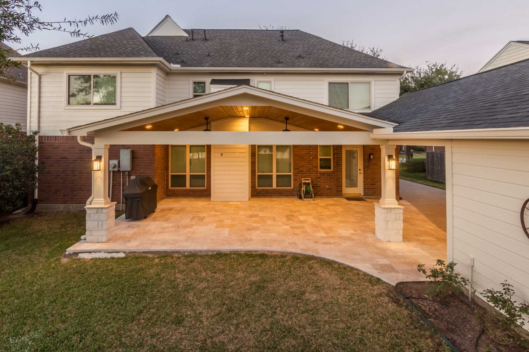 Patio Cover and Carport in Jersey Village - HHI Patio Covers on Open Patio Designs id=77070