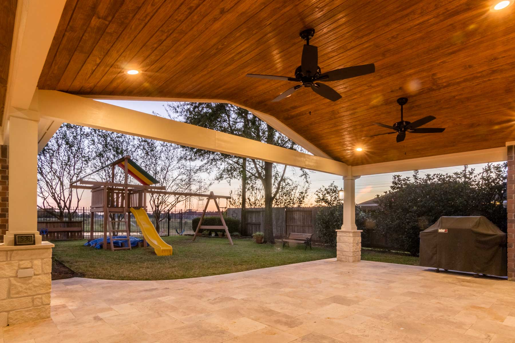 Patio Cover And Carport In Jersey Village Hhi Patio Covers