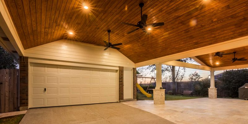 Patio Cover And Carport In Jersey Village