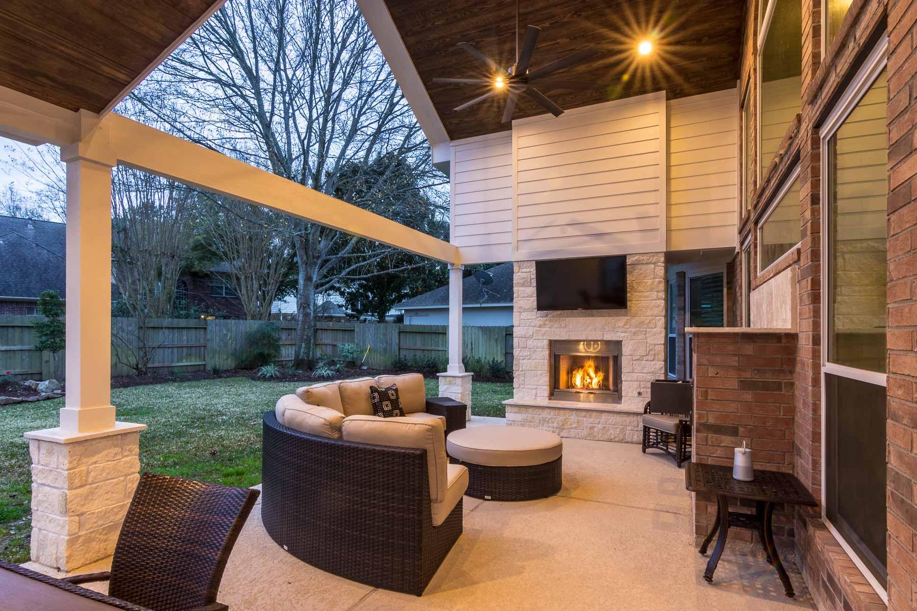 Open Gable (Cinco Ranch Tx) - HHI Patio Covers on Open Patio Designs id=26677