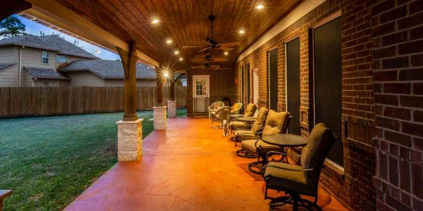 patio cover in spring texas