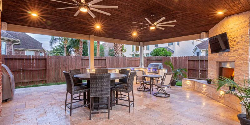 Patio Cover in Pearland, TX